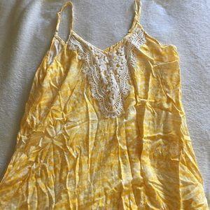 Xhilaration Dresses - Xhilaration Yellow maxi dress